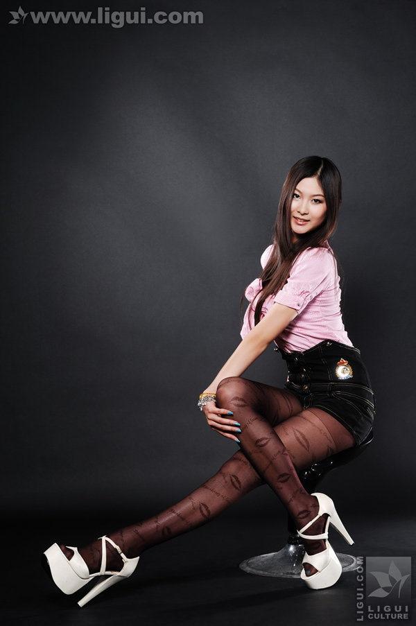 [Ligui丽柜]2009.07.29 性感迷人的丝袜 Model 孙跃[55P/37.1M]